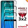 Protector de Pantalla 3D Xiaomi Redmi Note 7 / 8 / 8T / 8 Pro  Cristal templado