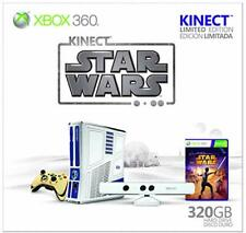 RARE, SEALED Xbox 360 Kinect Star Wars Limited Edition 320GB Matte White Console
