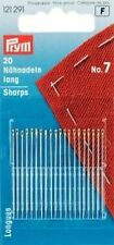 Sewing Needles Long Steel 7 Silver Color 0,70 X 37 MM