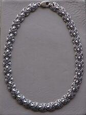 USSR Ukraine Vintage Soviet Silver Necklace 32.58 grams Ag 925