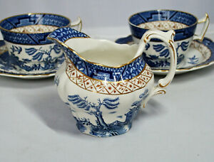 """Vintage BOOTHS """"REAL OLD WILLOW"""" SMALL Half-Pint CREAMER; A8025. c.1948 - 1968"""