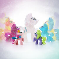 My Little Pony Rarity Style Unicorn Mini Loose Figures Cake Toppers Blind Bag