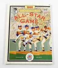 1991 MLB All-Star Baseball Game Official Program ^ Toronto Blue Jays