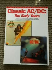 Classic AC/DC : The Early Years - Guitar Tab Edition 1991 Softcover *Rare*