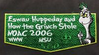 ESWAU HUPPEDAY OA 560 BSA PIEDMONT AREA HOW THE GRINCH STOLE NOAC 2006  FLAP