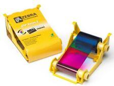 Zebra ZXP Series 3 YMCKOO Colour Ribbon 800033-344 ID Card Printer 230 Prints