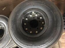 Aircraft Rib Tread Tire w/Rim 24 x 7.7 x 10 - #Mo814-262D