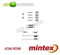 MINTEX REAR BRAKE SHOES SET FITTING KIT PIN SPRINGS GENUINE QUALITY - MBA739