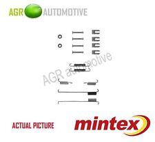 MINTEX REAR BRAKE SHOES SET FITTING KIT PIN SPRINGS GENUINE QUALITY - MBA739