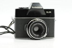 Rolleiflex SL26 126 Film Camera w/Zeiss 40mm f2.8 Lens #541
