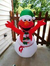 New ListingElmo Christmas Airblown Inflatable Sesame Street Inflatable 4Ft Christmas Gemmy