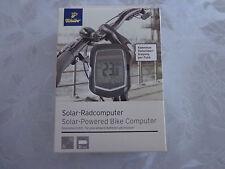 Tchibo TCM Fahrrad Solar Radcomputer neu Kabellose Datenübertragung per Funk