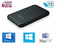 "Allcam USB 3.0 Portable External Hard Drive Enclosure for 2.5"" Laptop SATA HD"