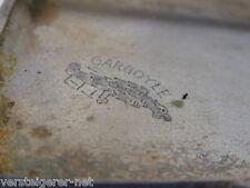 GARGOYLE Marine Oils Vintage Cigarette Case Mobiloil Zigarettenetui D.R.G.M.
