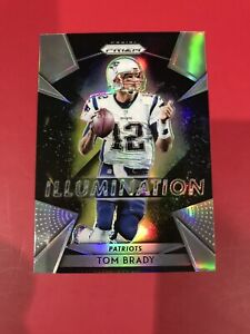 2018 Prizm Tom Brady Illumination Silver Holo Insert SP Patriots #1