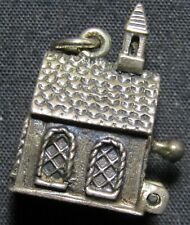 Vintage Danecraft Sterling Silver Church Charm - 6.2 grams - Movable Door