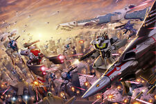 Macross/Robotech Fight Skull Squad Poster 12inchesx18inches Free Shipping