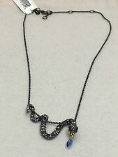 Alexis Bittar Pave Crystal Snake Necklace NWT $190