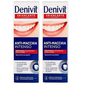 Denivit Toothpaste Anti Stain 50ml 2 pack