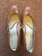 Taupe Court Shoes