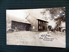PRESIDENT CALVIN COOLIDGE EARLY REAL PHOTO POSTCARD UNRESTORED VERMONT HOMESTEAD