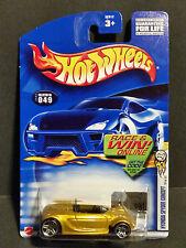 2002 Hot Wheels #049 First Editions 37/42 : Hyundai Spyder Concept - 52912