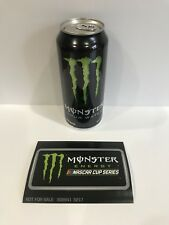 Monster Energy Drink Warped Tour Water 2016 Can & Monster Sticker Small Dents**