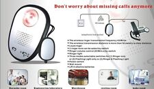 Wireless Ringer/Flashing Light Door Bell SOS Pendant Amplified Hearing Impaired