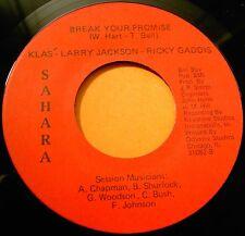 KLAS Let's Make Love Tonight/Break Your Promise Northern Soul 45 on SAHARA