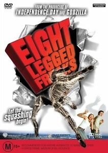 DVD EIGHT LEGGED FREAKS SCARLETT JOHANSON BRAND NEW UNSEALED REGION 4