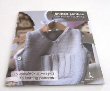 Laines du Nord BABY MILK knitting yarn pattern book for BABIES with 15 designs