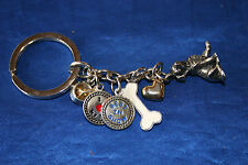Little Gifts Dog Breed Key Chain for People  6 charms