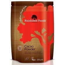 Rainforest Foods Organic Peruvian Cacao Powder 250g