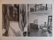 2002 Print Ad Polo Ralph Lauren Men's Underwear Briefs Clothing Fashion Sexy Guy