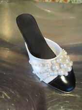 Just The Right Shoe Pearl Mule Issued 1998
