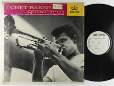 Chet Baker Quintette - S/T LP - Crown - 5317 Mono Shrink