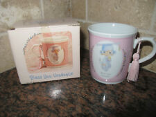 Enesco Precious Moments Collection Mug 1990 Bless You Graduate