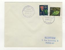 TOGO 2 timbres sur lettre FDC 1959 tampon Togo Lomé /L541
