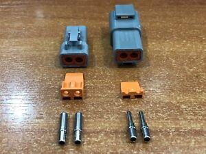 Deutsch DTP 2 Pin Connector Kit - 12 -14 AWG