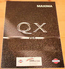Prospekt Nissan Maxima QX 1995