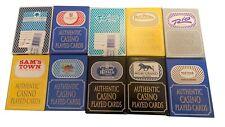 2 RANDOM PACKS OF CASINO POKER CARDS - LAS VEGAS PLAYING CARDS