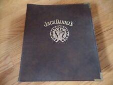 RARE Jack Daniels salesman's,sales rep/force POP (Point of Purchase) binder