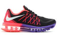 New Women's Nike Air Max Running Shoes Black/Hyper Punch/Hyper Grape Size 5 US