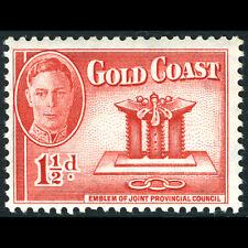 GOLD COAST 1948 1.5d Emblem. SG 137. Mint Never Hinged. (AF378)