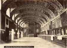 Huerta. Espagne, Escorial, sacristia del monasterio  Vintage albumen print Tir