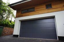 TECKENTRUP CARTECK SIGNATURE RIB SECTIONAL GARAGE DOOR INSULATED 40mm MODERN RIB