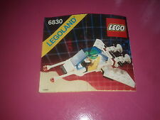 LEGO #6830, Espace patroller, Notice uniquement /Instructions only