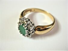 Ring Gold 585 with Emerald and Diamonds, 5,14 G