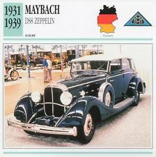 1931-1939 MAYBACH DS8 ZEPPELIN Classic Car Photograph / Information Maxi Card