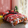 New Christmas Single/Double/Queen/King Size Bed Quilt Doona Duvet Cover Set